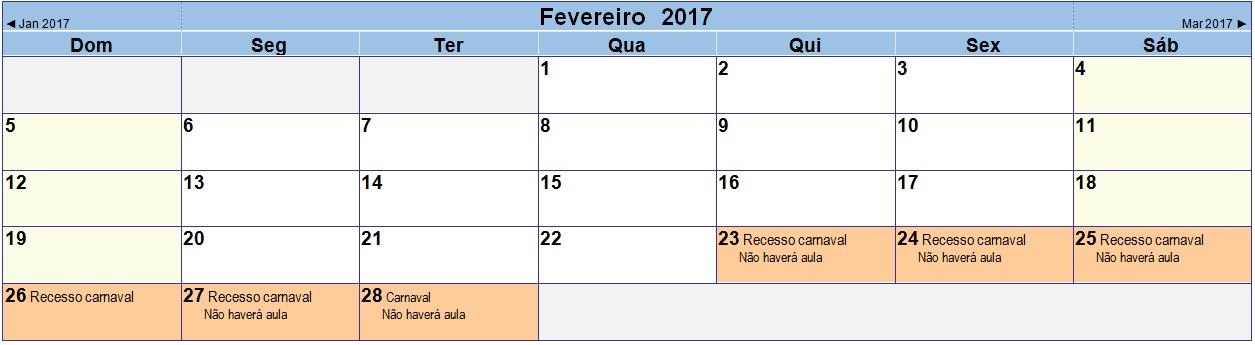 2017 02 Calendário