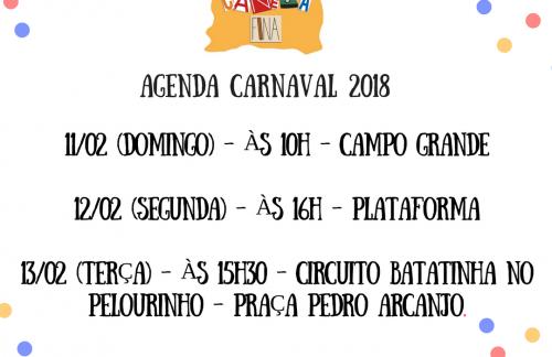 Canela fina no carnaval